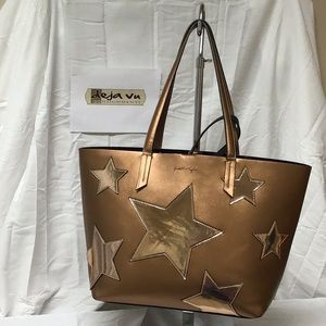 Kendall + Kylie Star tote w/ clutch LIMITED